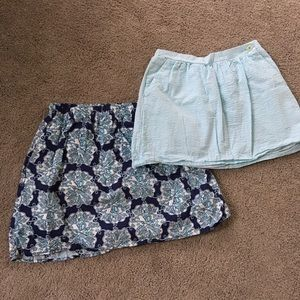 Lot of two Lilly Pulitzer skirts!
